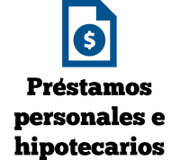 Préstamos personales e hipotecarios